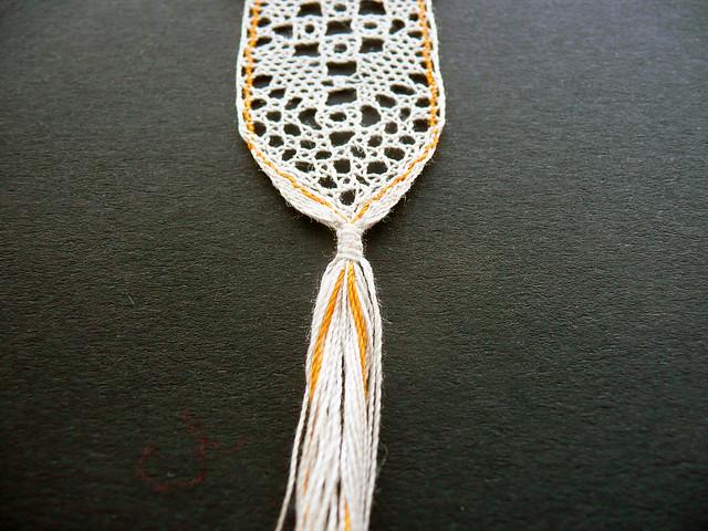 Detail: Flat knot