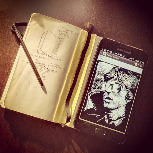 My digital sketchbook: Galaxy Note.