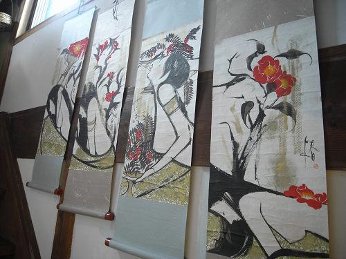 上村恭子個展「こおろこおろ」@フルコト1周年(きたまち)