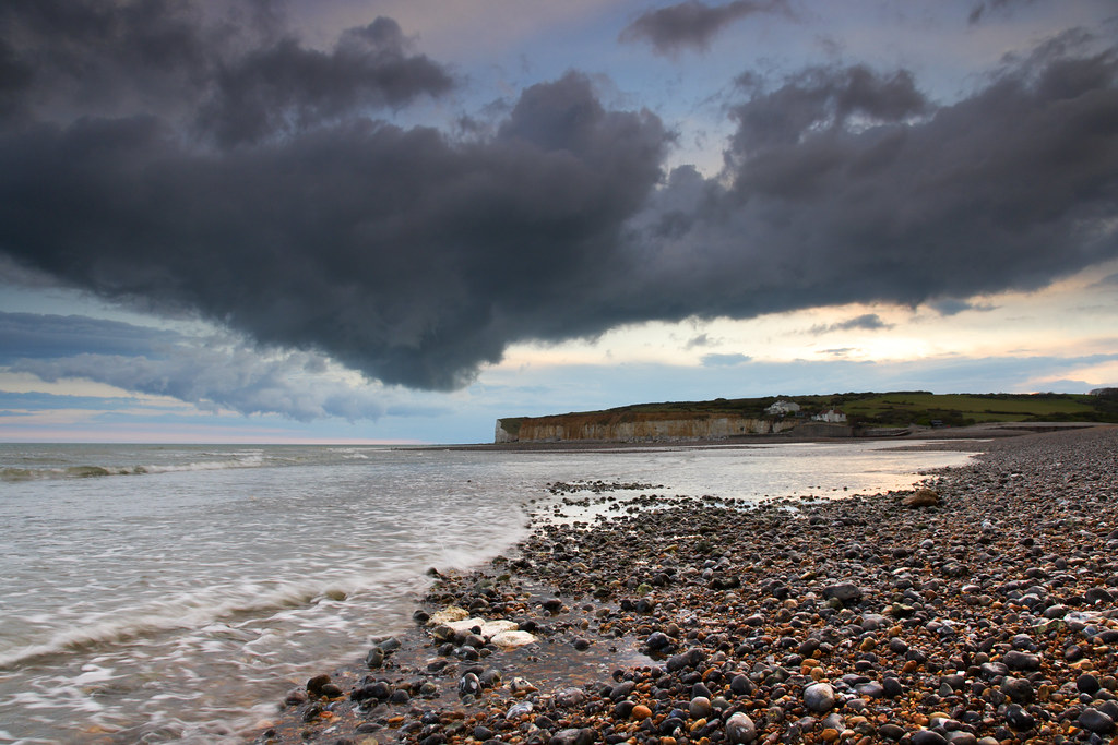 Squall Cloud, Cuckmere  Haven
