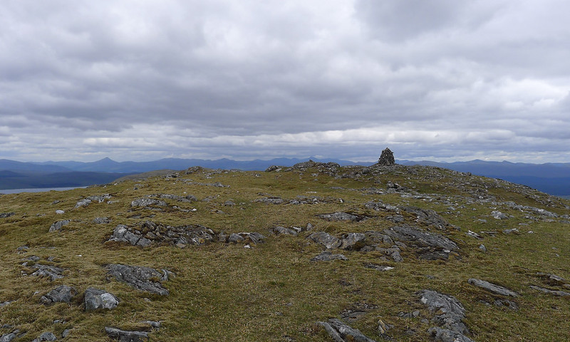 The summit of Carn Dearg
