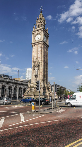 Albert Memorial Clock, Belfast by infomatique