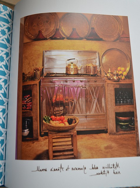 glimpse into a moroccan kitchen