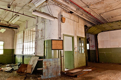 Abandoned Barber-Colman factory in Rockford, Illinois