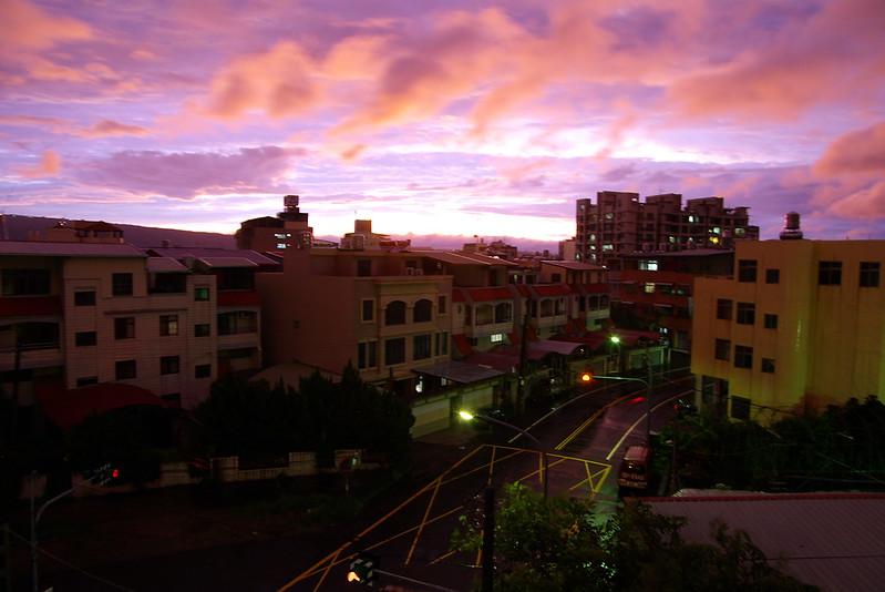 1010620颱風天的火燒雲~~in南投