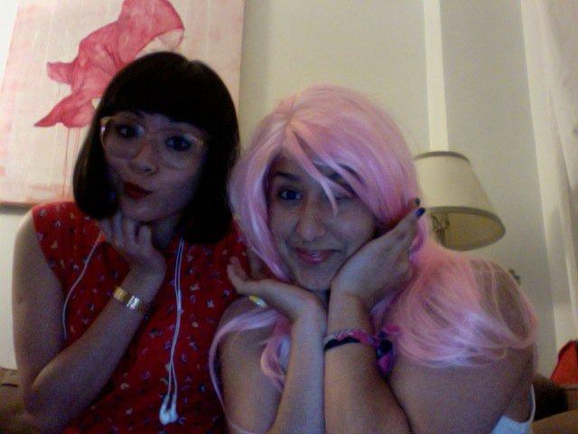 caro pink wig