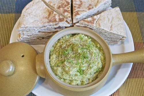 avocado bean dip feature