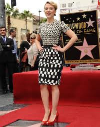 Scarlett Johansson Clashing Prints Celebrity Style Women's Fashion