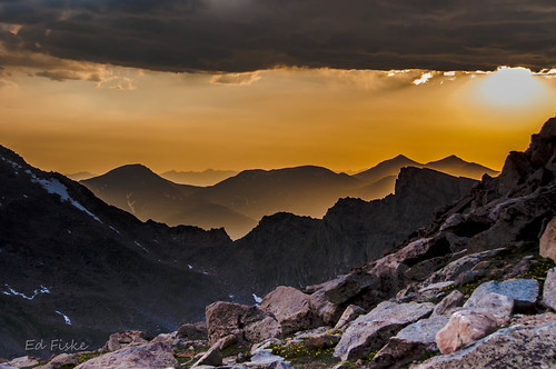 mountains golden haze colorado smoke sunsets tundra mtevans wildfire