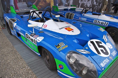 Matra Simca MS 670 Driven to victory at the 1972 Le Mans 24 Hours by Henri Pescarolo and Graham Hill