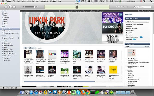 Apple Launches iTunes Store In Singapore