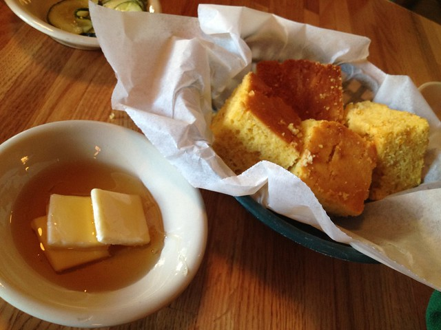 Basket of corn bread - Jestine's Kitchen