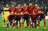Spain National Futbol Team 2012 by Wdh001