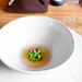 20th Course: Fresh peas and fermented peas, aromatic tea by ALifeWorthEating