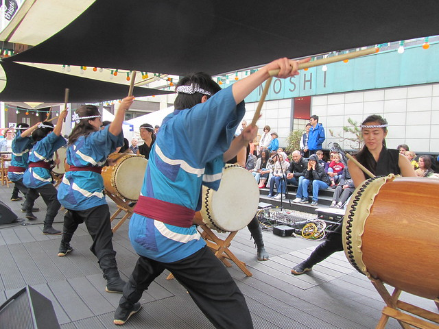 Stanford Taiko at the Brighton Japan Festival 2012