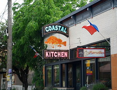 The Awesome Coastal Kitchen, With Its City-of-the-Month Sign