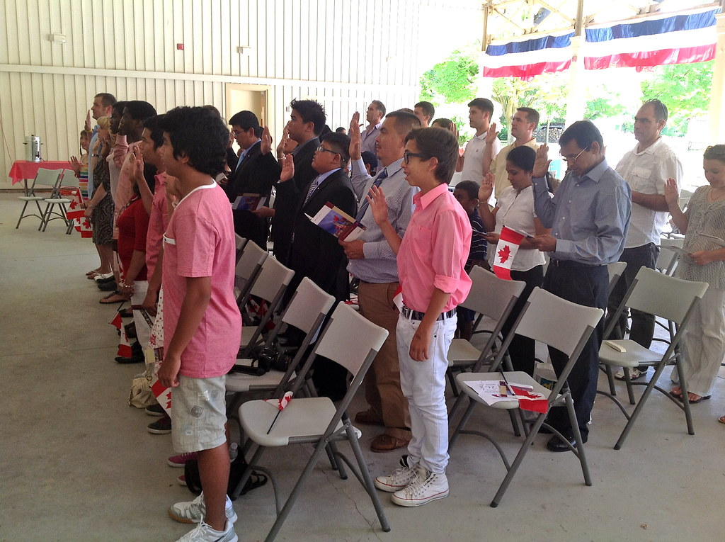 Canadian citizenship oath