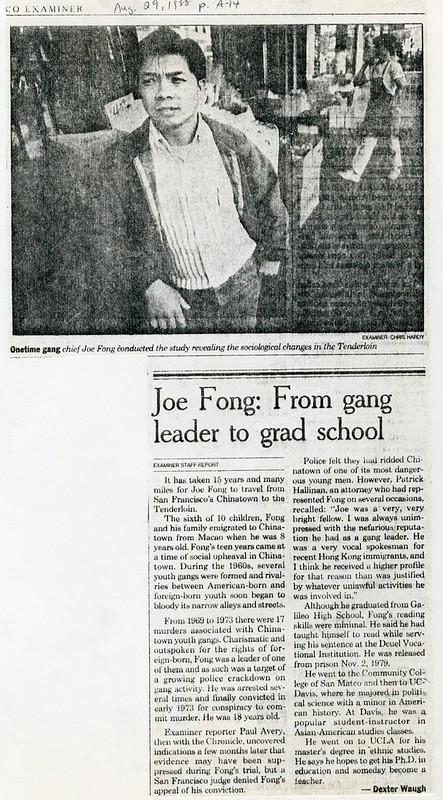 Joe Fong: From gang leader to grad school