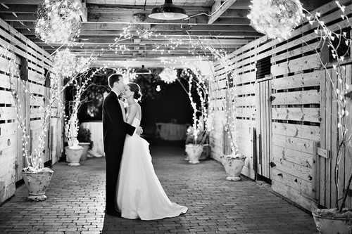 Brittaney & Jeff, photo - Nancy Ray Photography by Lea Ann Belter Bridal