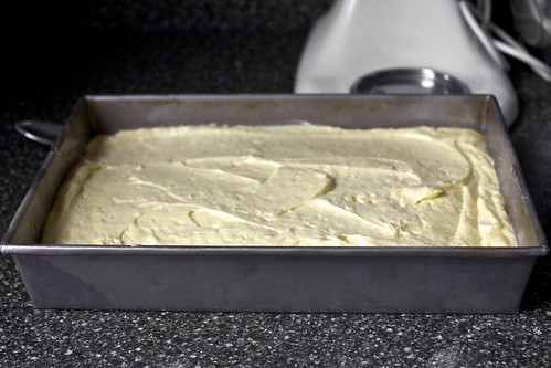 buttery sheet cake