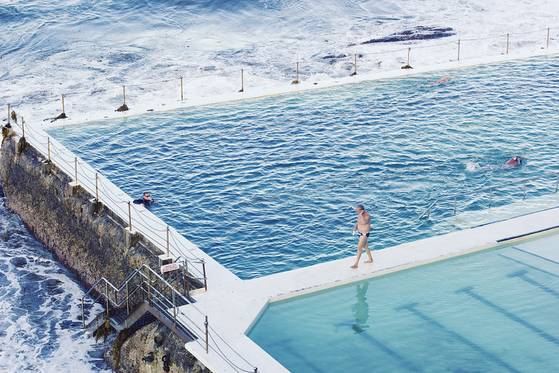 Outdoor Pools at Bondi Beach, Sydney www.8ruecaffarelli.com