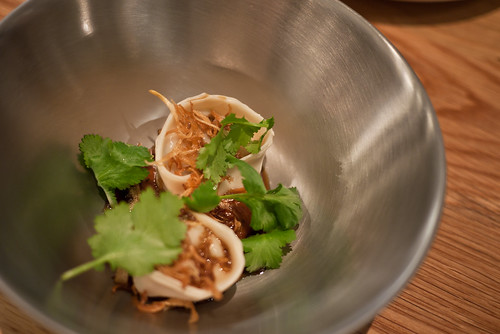 Prawn dumplings at Golden Fields