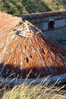 Image of Shoreham Fort near The Duke of Wellington Shoreham. roof landscape day outdoor military bricks ruin historic tiles shorehambeach shorehambysea shorehamfort