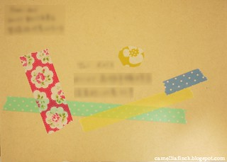 envelope decor for Kris
