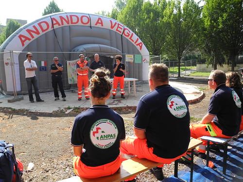 Campo Costa: i volontari Anpas