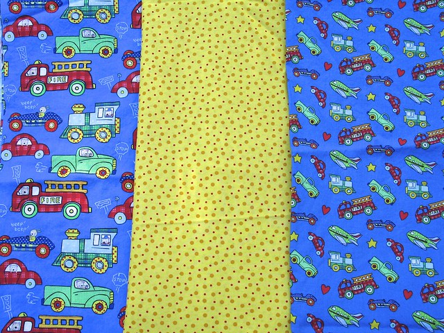 Fabric for Grandbaby #7's Quilt