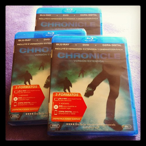 Pues si, eso que veis son tres ediciones en Blu-Ray de Chronicle para vosotros