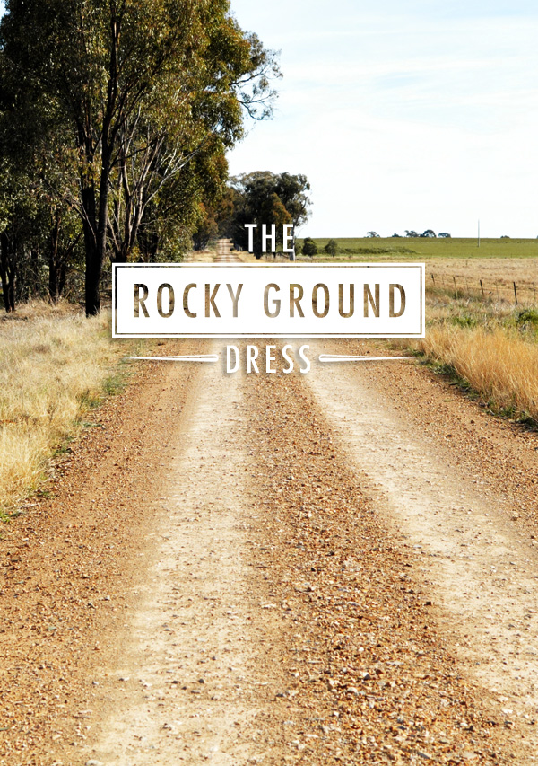 The rocky ground dress