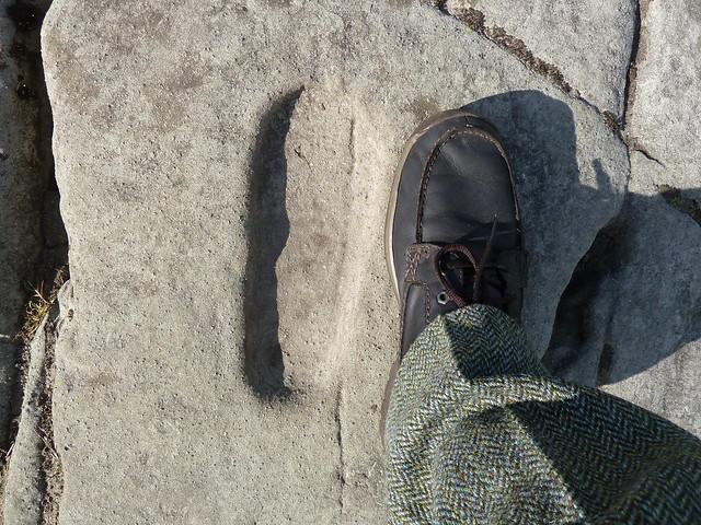 Footprint Carving, Dunadd