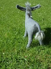 WIP Donkey plush ...