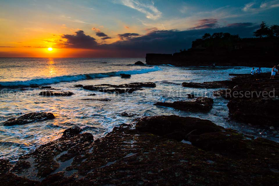 Sunset @ Tanah Lot, Bali, Indonesia