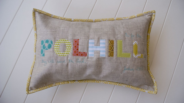 Name Pillow