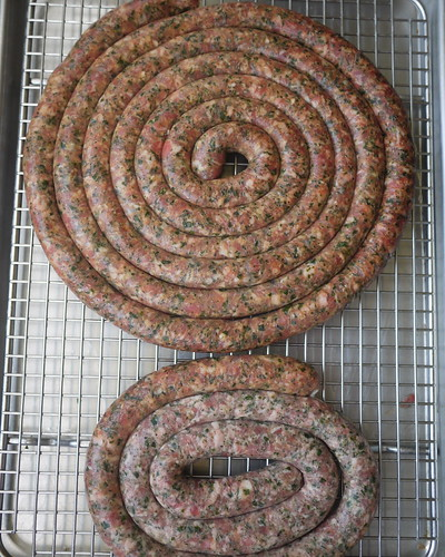 Barese sausage test batches 2 and 3