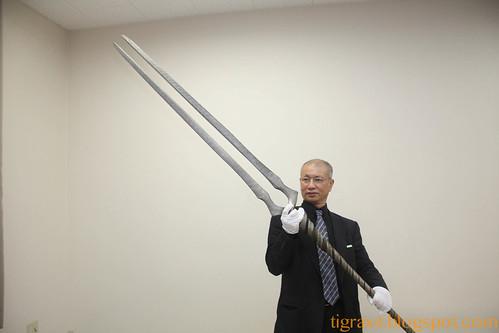 Bizen Osafune Sword Museum. Lance of Longinus.