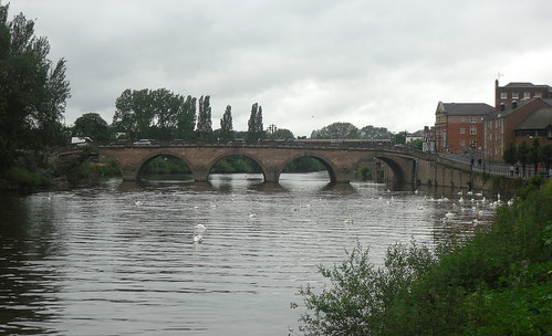 Bridge over River Severn at Worcester