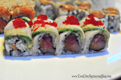 Dancing Roll at Osaka Sushi & Hibachi ~ Roseville, MN