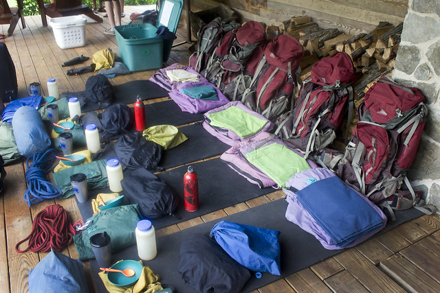 backpacking gear by flickr user wwworks