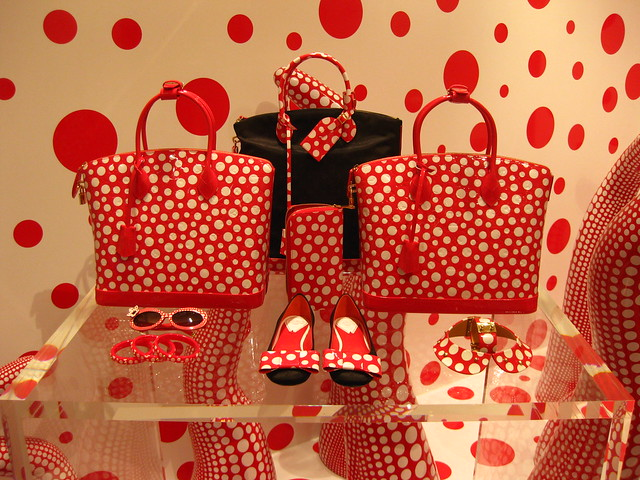 Going Dotty: Louis Vuitton – Yayoi Kusama Concept Store Opens in Singapore