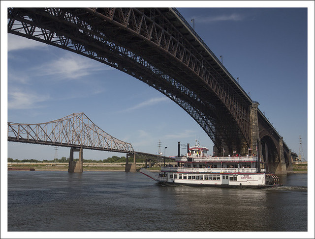 The Tom Sawyer Under Eads Bridge