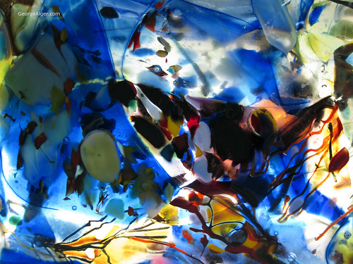 Abstract Blue, by George Alger
