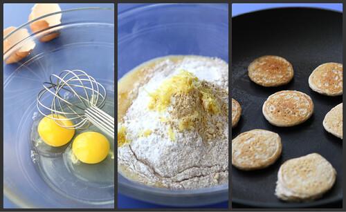 Lemon, Ginger & Strawberry Pancake Skewer Recipe