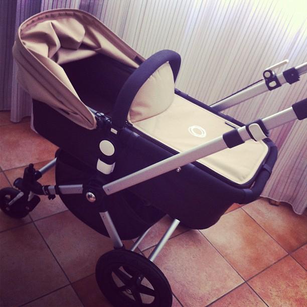 Che #passeggino chic #bugaboo #cameleon #gravidanza #neonato