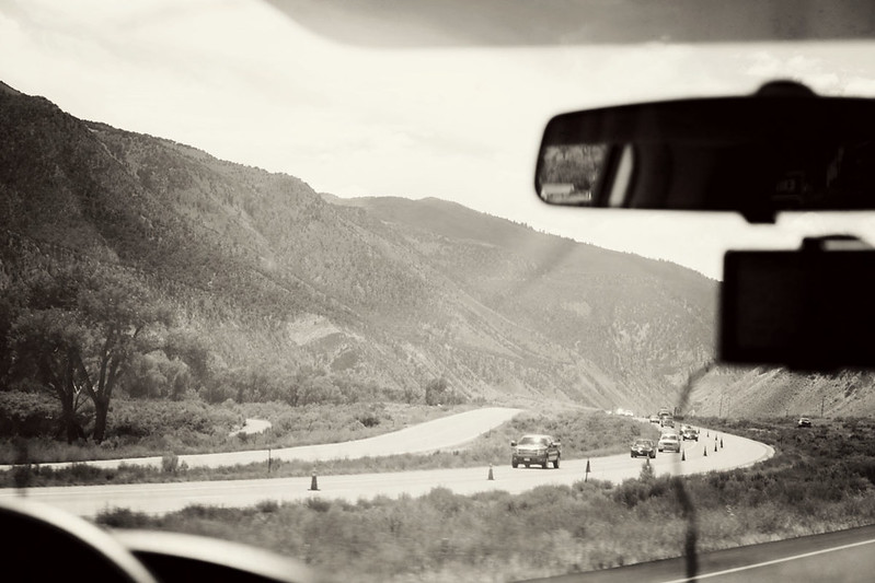 driving to Aspen 13