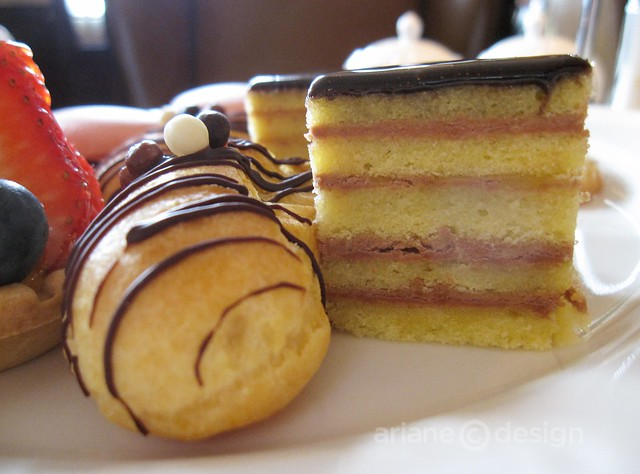 Afternoon tea at the Fairmont Palliser