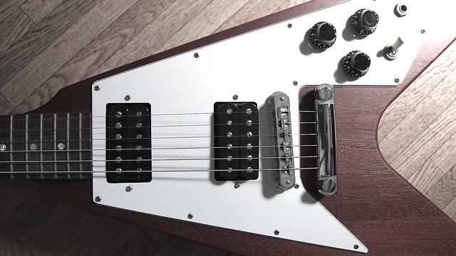 Photo:Gibson Flying V Cherry By kohrogi34