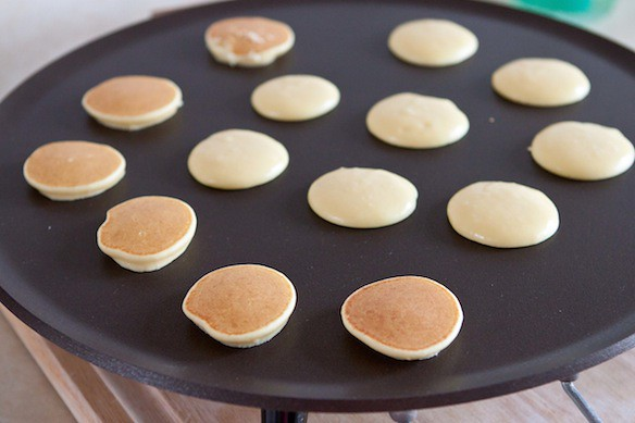 Blini frying